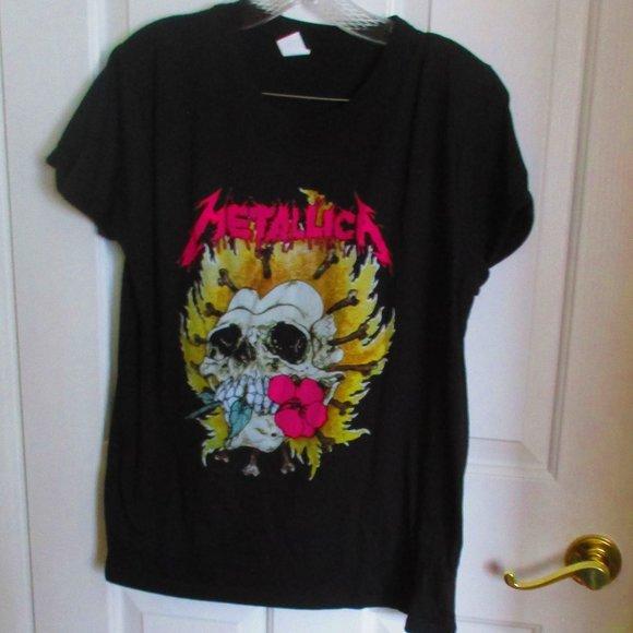 Metallica Tee LG Streetwear Society